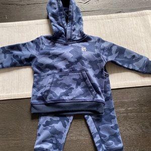 Dkny blue camo track suit